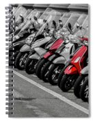 Tight Parking Spiral Notebook