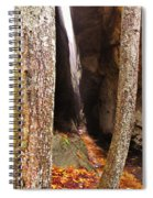 Tight Spaces Spiral Notebook