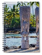 Tiki Butts Spiral Notebook