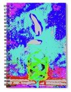 Tiki Lamp Spiral Notebook