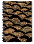 Tile Roof 3 Spiral Notebook