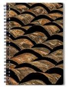 Tile Roof 4 Spiral Notebook