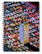 Tile Roof, Spain Spiral Notebook