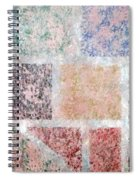 Tile Splash Spiral Notebook