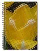 Tiled Yellow Tulip Spiral Notebook