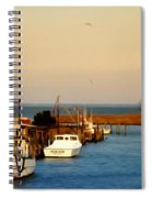 Tilghman Island Maryland Spiral Notebook