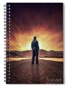 Till It Burns Spiral Notebook