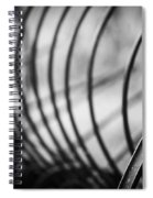 Tiller At The End Of A Day Spiral Notebook