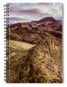 Tilt-shift Mountain Peak Spiral Notebook