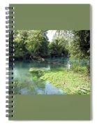 Timava's Spring II Spiral Notebook