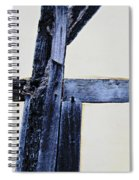Timber Framing Detail Spiral Notebook