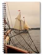 Timberwind Off The Bow Spiral Notebook