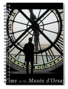 Time At The Musee D'orsay Spiral Notebook