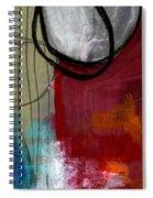 Time Between- Abstract Art Spiral Notebook