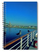 Time For A Cruise Spiral Notebook