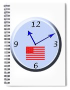 Time For Patriotism Spiral Notebook