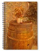 Time For Wine - 6015 Spiral Notebook