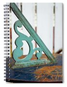 Time  From The Past Spiral Notebook