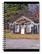 Time Frozen Spiral Notebook