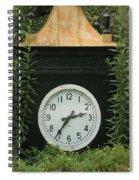 Time In The Garden Spiral Notebook