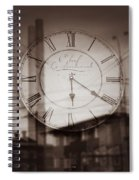 Time Is Infinite Spiral Notebook