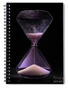 Time Is Running Out Spiral Notebook