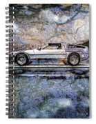 Time Machine Or The Retrofitted Delorean Dmc-12 Spiral Notebook