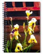 Time Sings A Melody Spiral Notebook