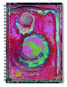 Time Slip Spiral Notebook