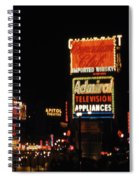Time Square 1956 Spiral Notebook
