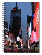 Time Square New York City Spiral Notebook