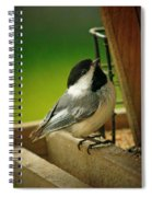 Time To Feast Spiral Notebook