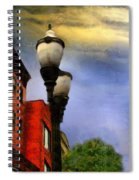 Time To Light The Lamps Spiral Notebook