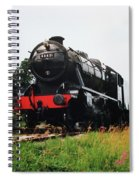 Time Travel By Steam Spiral Notebook
