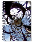 Time Tunnel  Spiral Notebook