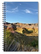Time Washed Spiral Notebook