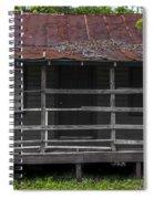 Time Worn Homestead Spiral Notebook