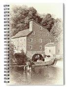 Timeless-clinton Mill N.j.  Spiral Notebook
