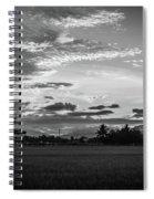 Timeless Sunsets Spiral Notebook