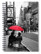 Times Square 5 Spiral Notebook