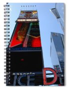 Times Square Cops Spiral Notebook