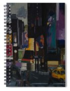 Times Square Crossing Spiral Notebook
