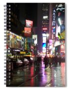 Times Square In The Rain 1 Spiral Notebook