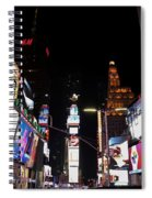 Times Square New York City New Years Eve Spiral Notebook