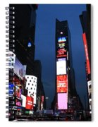 Times Square New York Spiral Notebook