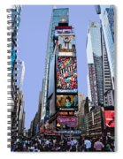 Times Square Nyc Spiral Notebook