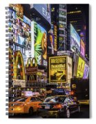 Times Square Pano Spiral Notebook