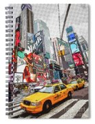 Times Square Pop Art Spiral Notebook