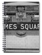 Times Square Station Tablet Spiral Notebook
