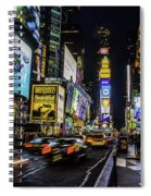 Times Square Traffic Spiral Notebook